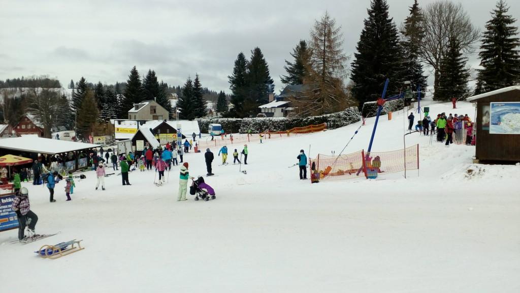 Ski areál Hrabětice - Severák