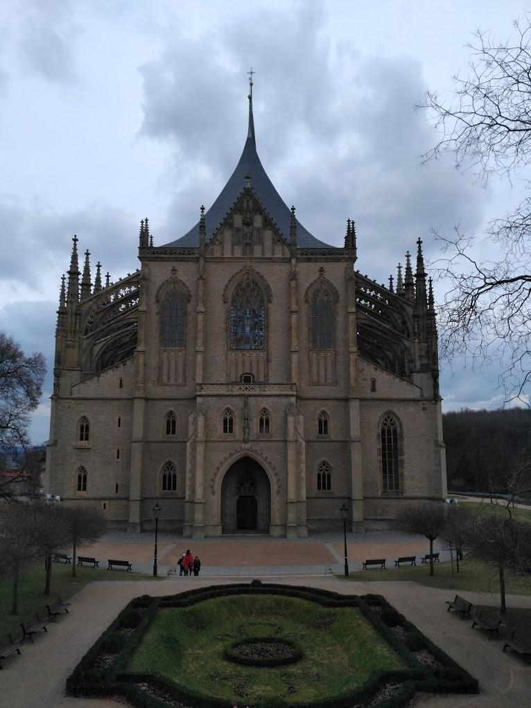 chrám Svaté Barbory